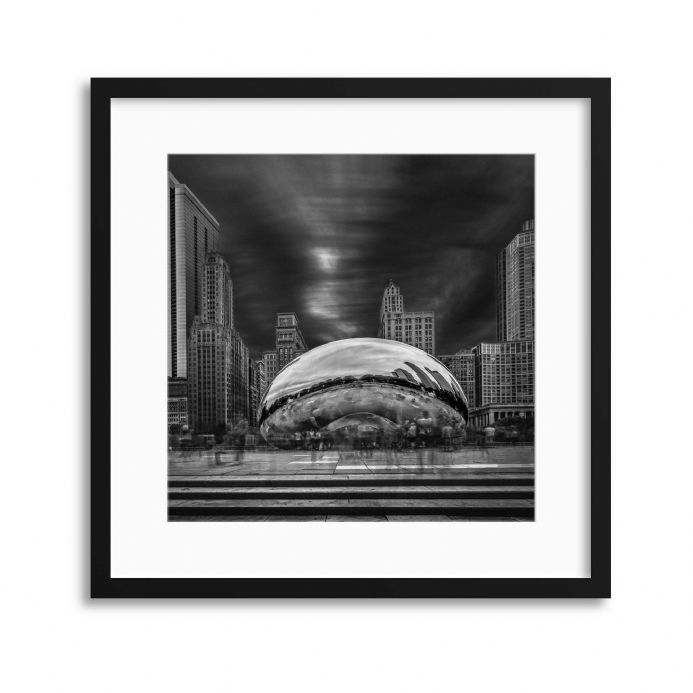 Cloud Gate by Shelley Quarless Framed Prints